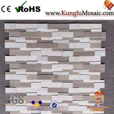Grey Athens Marble Wall Mosaic Tile
