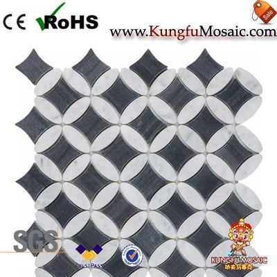Imagination Diamond Marble Mosaic Tile