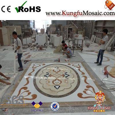 Lobby Marble Mosaic Medallion Floor