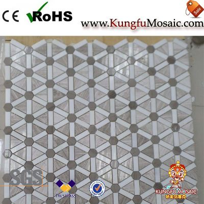 New Design Marble Floor Mosaic Tile