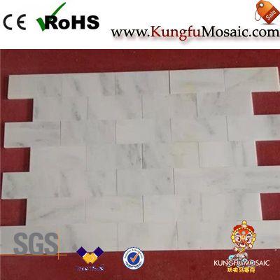Star White Marble Floor Tiles
