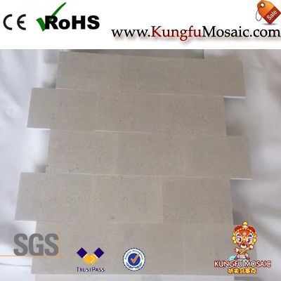grey marble mosaic tiles China