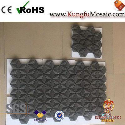 3d Split Brick Marble Mosaics