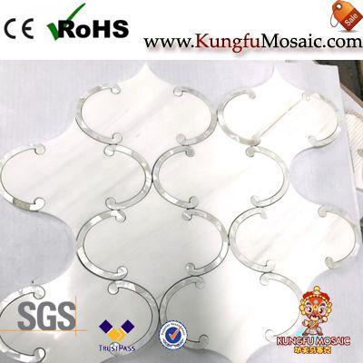 Lantern Design Waterjet Marble Mosaic