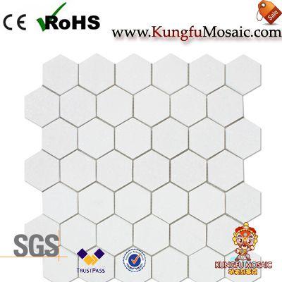 Мозаика Плитка мраморная шестигранные