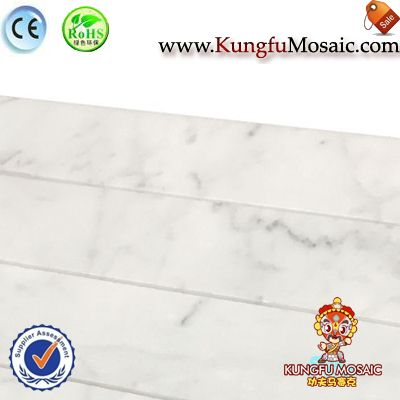 Carrara Marble Floor Mosaic Tiles