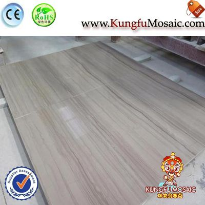 Grey Wooden Grain Marble Floor Tiles