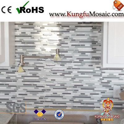 Marble Mosaic Backsplash Color