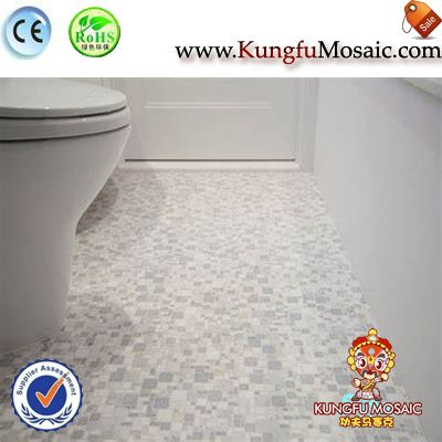 Marble Mosaic Bathroom Floor Tile
