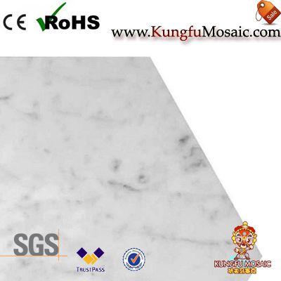 Carrara Marble Hexagon Floor Tiles