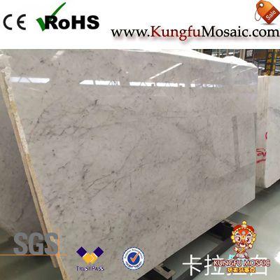 Italian Carrara White Marble Slabs
