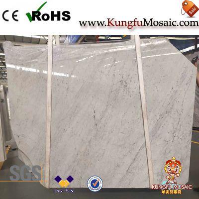 Italienische Carrara weiße Marmorplatten