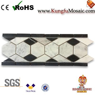Marble Border Mosaic Line