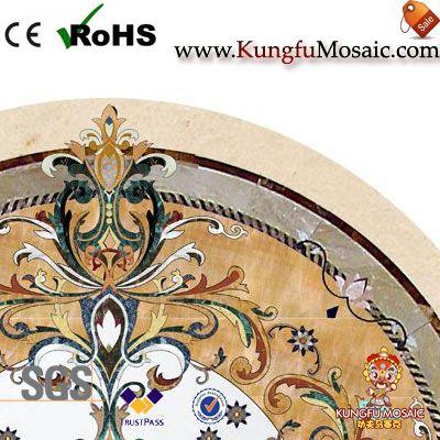 Кожаные узоры Каменный медальон плитки