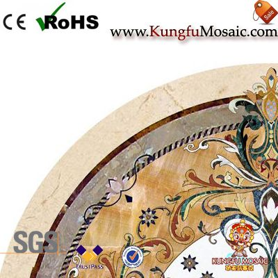 Leather Patterns Stone Medallion Tiles
