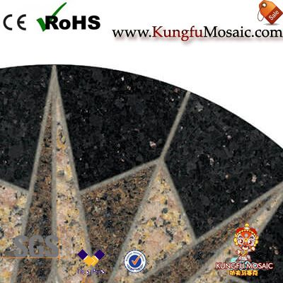 Round Granite Medallion Stone Floor Tiles