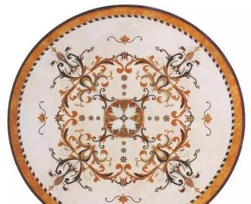 marble medallion tiles
