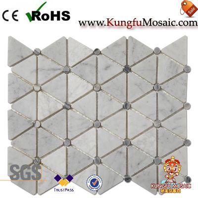Carreaux de mosaïque de marbre en gros
