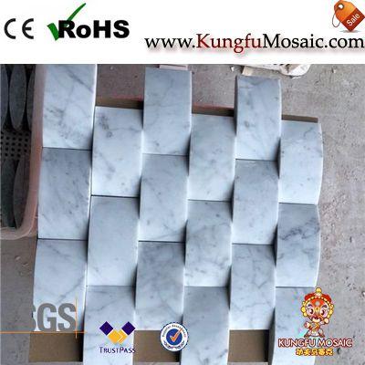 Carrara White Marble Bread Marble Mosaics