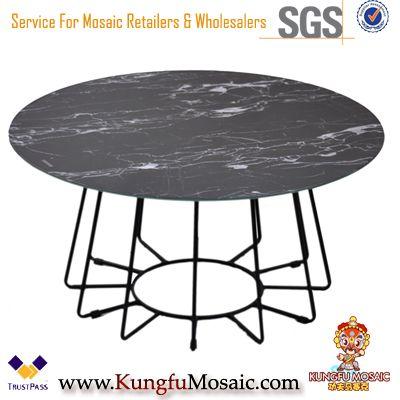 Black Marble Table Basse En gros